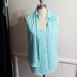 ANTHROPOLOGIE MAEVE BLOUSE SIZE 2